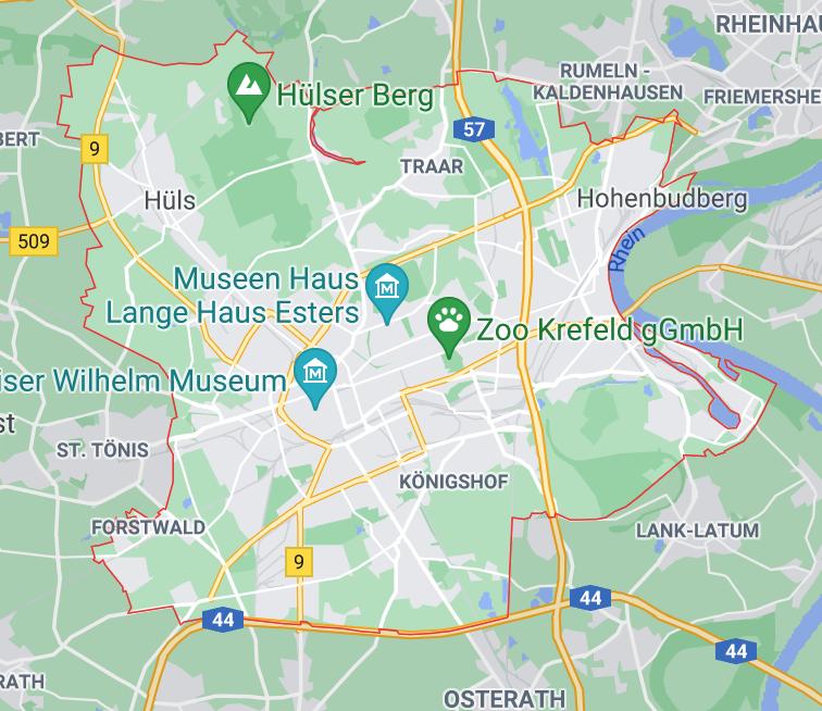 Einsatzgebiet Rohr- und Kanalarbeiten für die Region Krefeld
